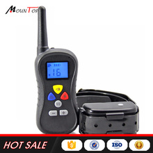 Amazon Hot 440 Yards Electronic Pet Shock Vibrate Beep Dog Collar Remote Dog Training Collar