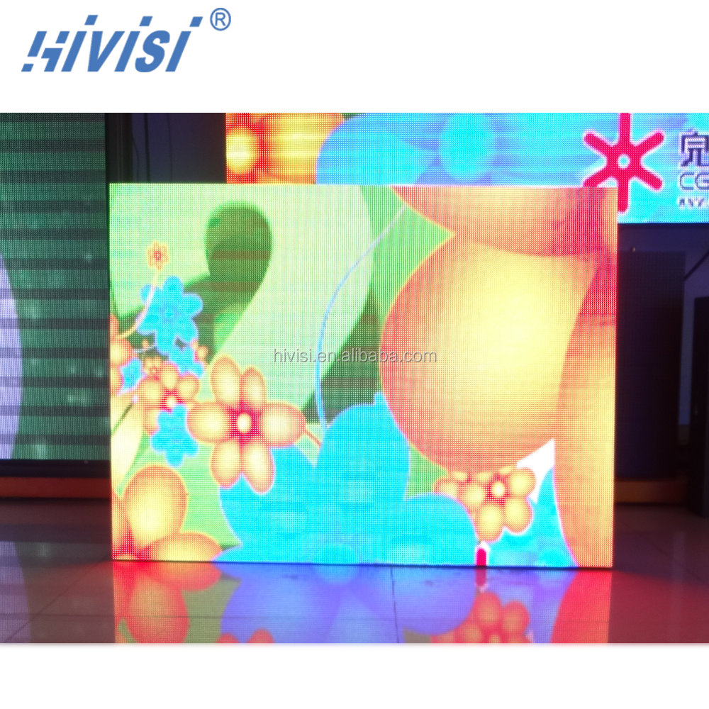Indoor rental use SMD P4 LED display with hanging bar