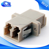 Hot sell 2016 new productsfiber optic cable adapter/coupler lc-lc duplex multimode , fiber Optic Adapter , fiber optic connector