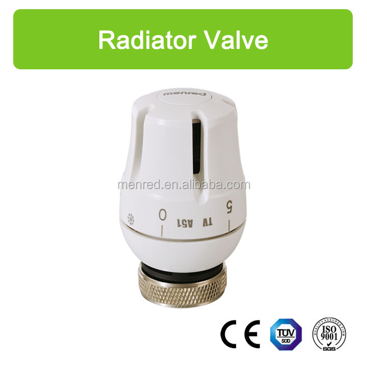 menred TV thermostatic head/ adjusting radiator valve