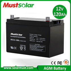 Competitive Price 12V 120Ah Inverter Battery for Home Solar System