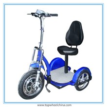 Topwheel china wholesale for adult elderly people transport 500W motor three wheels electric tricycle for handicapped
