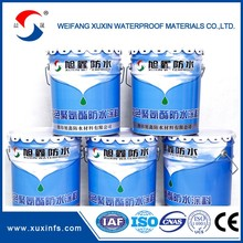 high quality polymer cement waterproof coating with red/blue/white/black color