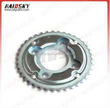HAISSKY CG125 14T motorcycle front sprocket with chrome