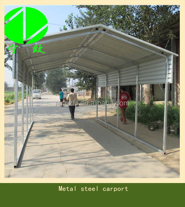 Metal Carport Landscaping : Metal garden used carport shed view carports