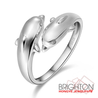 Dolphin Animal Shaped Rings-N16005-59
