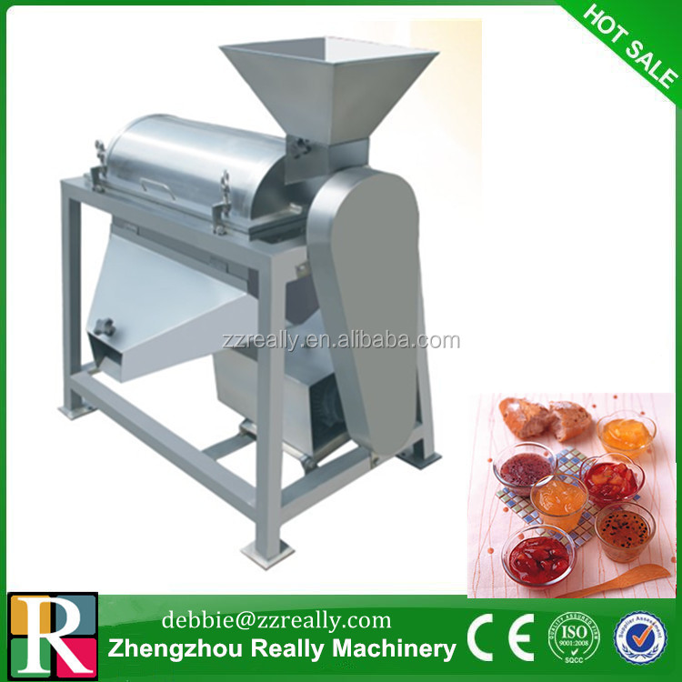 HOT China Fruit pulp making machine, seed and pulp separation machine,fruit beating machine