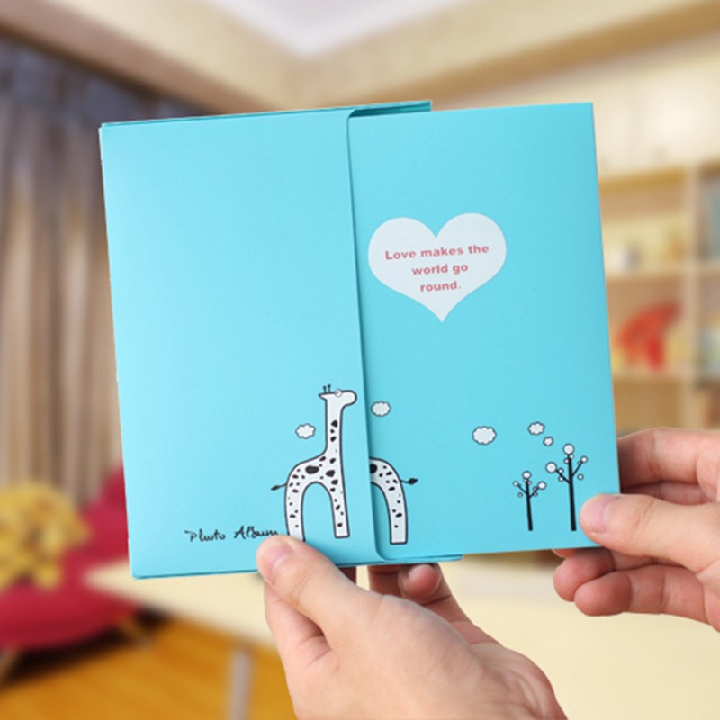 Creative Simple DIY Photo Album Paper Crafts Handmade Baby Child Marriage Albums Sheets For Photo Album In 6 Inch