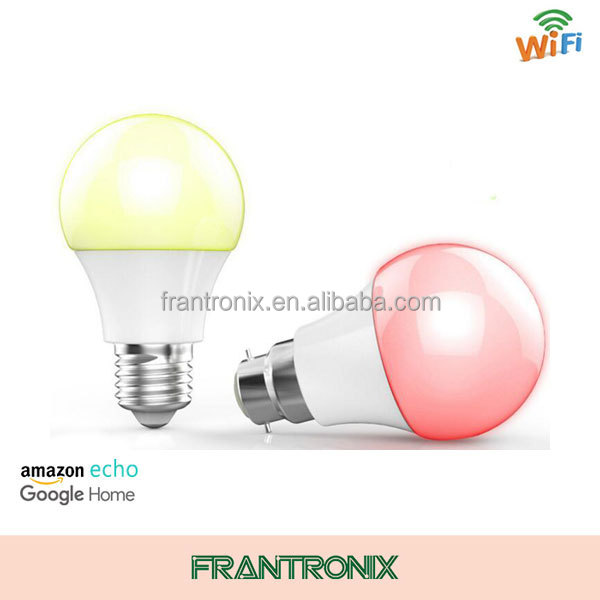 High quality smart led light bulb with Echo and Google home