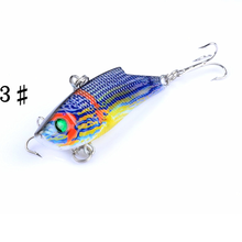 Brand Lifelike Floating Fishing Lure 7.7CM 9.4G Pesca Hooks Fish Wobbler Tackle Crank bait Artificial Hard Bait