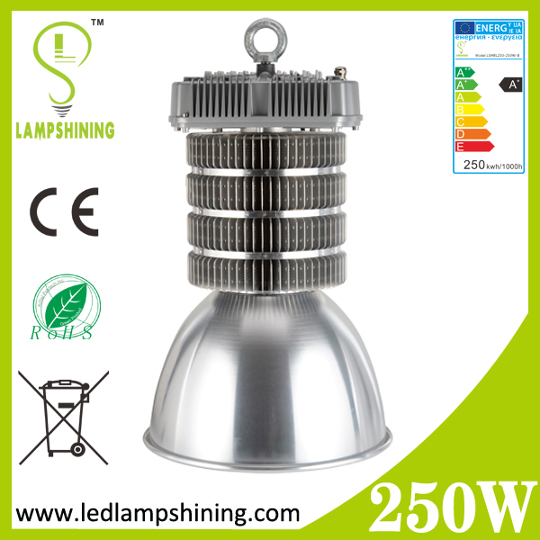 25000lm 250W aluminum fin led high bay light manufacturer looking for agent