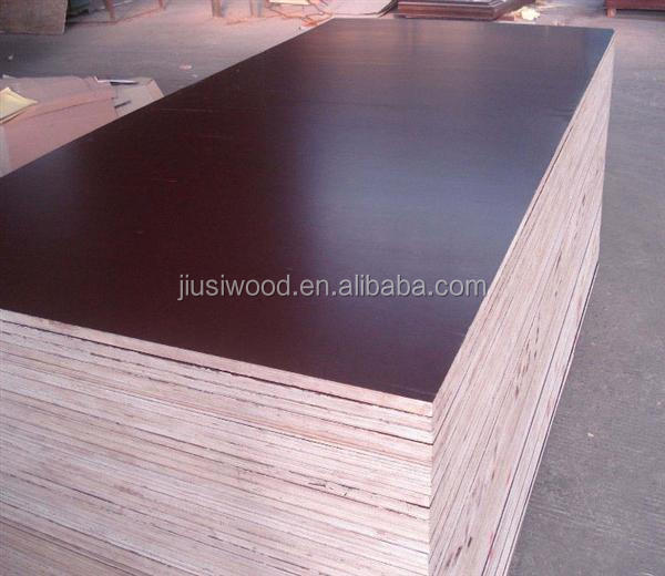 Black Waterproof Film Faced Plywood For Concrete Formwork