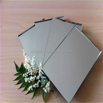 3mm 4mm 5mm 6mm Large Aluminum Mirror Sheet With FENZI Paint