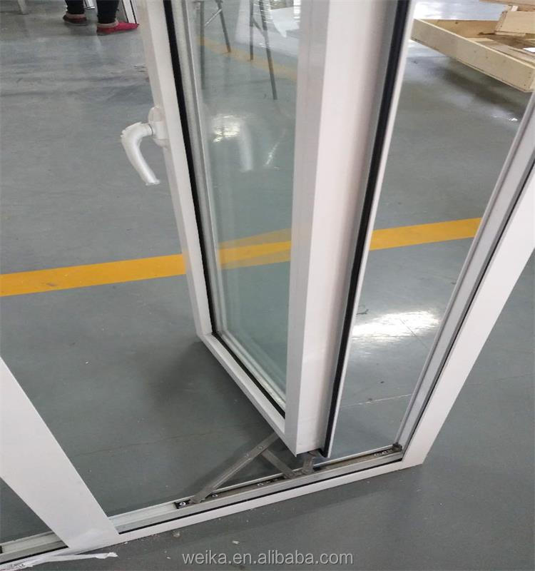 New design pvc casement window