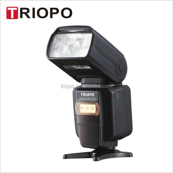 Triopo Lion Camera flash G1800 Guarantees better light shooting experience with built-in triopo 2.4G wireless System