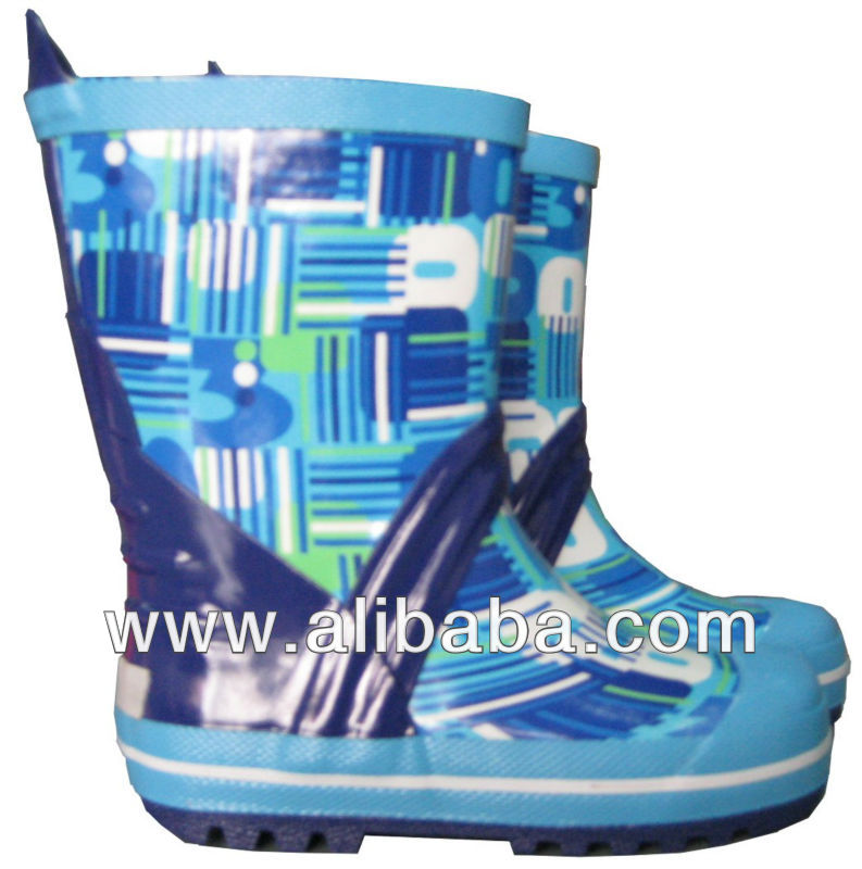 KID'S FANCY RUBBER BOOTS