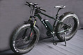 Mozo suspension fork Fat electric snow bike with Tektro hydraulic brake