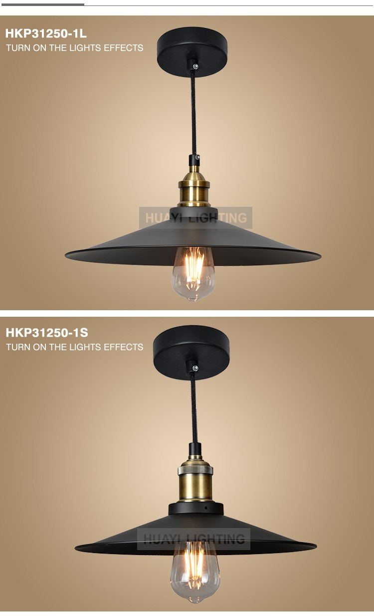 Quality assurance retro interior decorative pendant lamp