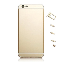 Replacement 24K Gold Plating Original Back Cover Platinum Housing for iPhone 6 6 plus