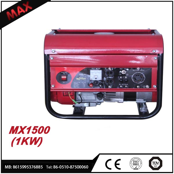 Factory Price 1500W Camping Small Gasoline Generator