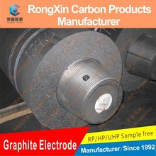 UHP(Ultra High Power)Grade and Electrode Bolt Type graphite electrodes with nipples