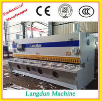 China Supplier Heavy Equipment used guillotine cutting machine