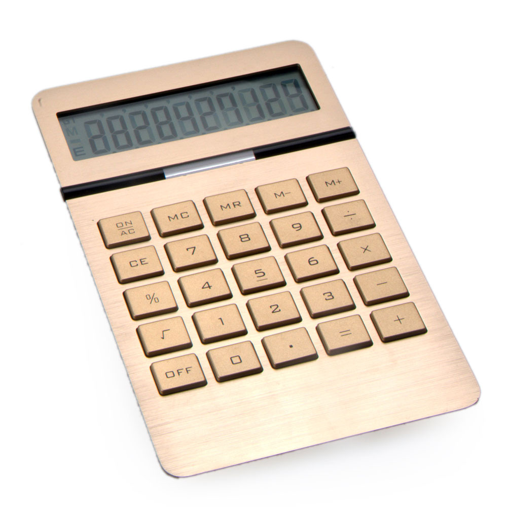 Nice Calculator, Aluminium Surface Calculator, High Quality Desktop Calculator