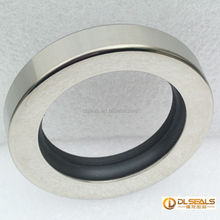 Dual PTFE Lip Stainless Steel Oil Seal Rotary Shaft Seal For Compressors Vacuum Pumps Engine Mixers Actuators