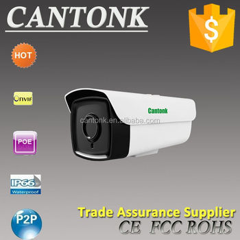 Cantonk H.265+ small P2P outdoor hd 2MP 1080P SD card recording IP camera