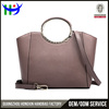 Guangzhou factory best selling beautiful latest design hand purse nice brand genuine leather ladies purse