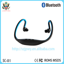 Bluetooth stereo headset External wireless Wireless Universal Stereo neckband sport with loudspeaker V4.0 SC-1 Bluetooth headset