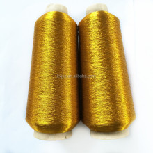 FABRIC WITH GOLD METALLIC EMBROIDERY THREADS USED MACHINE