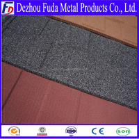 shingle design building materials colorful stone coated steel roof tile