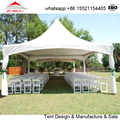6x6m cheap outdoor pogada wedding tent for wedding accomodate 80 people
