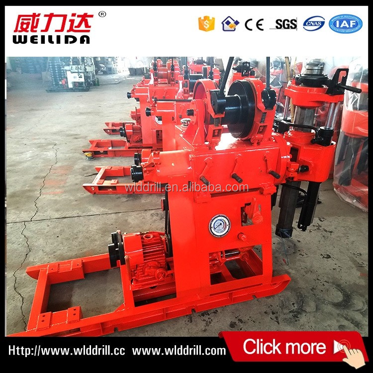 China best price XY-1B core drilling well pipe rig machine for sale
