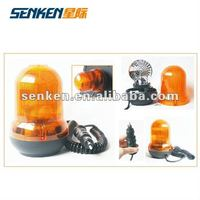 Halogen rotating beacon for fire trucks or other special vehicles