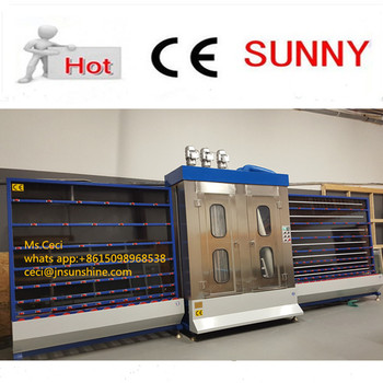 Vertical Glass Washing Machine for Insulating Glass Machine