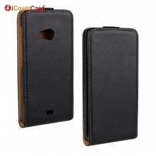 Mobile Phone Accessories Vertical Flip Leather Case Phone Cover for Microsoft Lumia 535 Couqe Etui Fundas Carcasas Capa