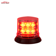 Discount 27W Red Led Strobe Beacon lights 10V/30V High quality Bright Blue Led Rotating beacon Light for Emergency vehicle