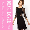 French Connection Vienna Lace Skater Dress 2014