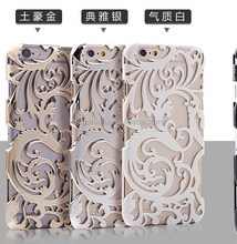 New Arrival Pearl Flower Bling Handmade Cover Case For iPhone 6S plus