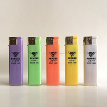logo custom lighter cigarette lighter promotion encendedores China factory FH-802