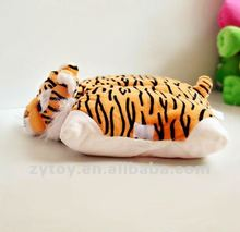 Cute tiger animal shaped pillow Outdoor chair cushions
