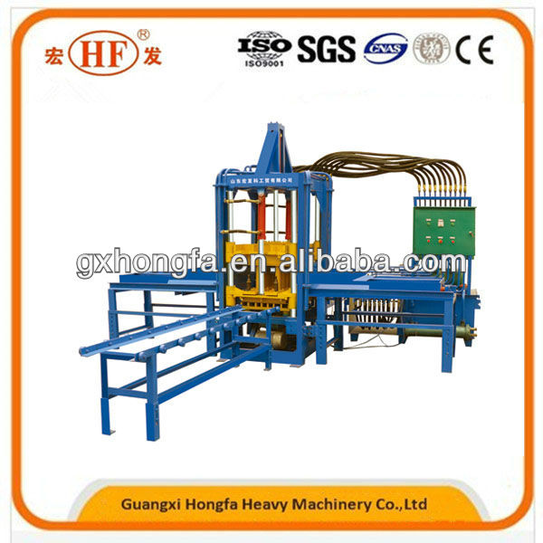 HFB543S concrete interlocking paving stone paver making machine