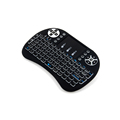 S08 2.4G Mini Wireless Bluetooth Air Fly Mouse Remote Control Backlit Keyboard