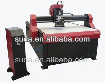 SUDA CNC 4 axis ATC Router engraver Machine with tool change