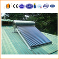 compact non pressure solar water heater for family use