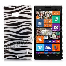 Smooth Rubber Coated Matte Zebra stripes Case for Nokia Lumia 930 Hard Cover