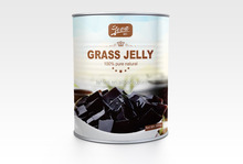 good quality good taste grass jelly canned