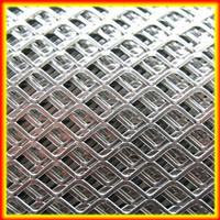 2014 hot sale Powder coating Aluminum Expanded steel Metal Mesh For Fencing